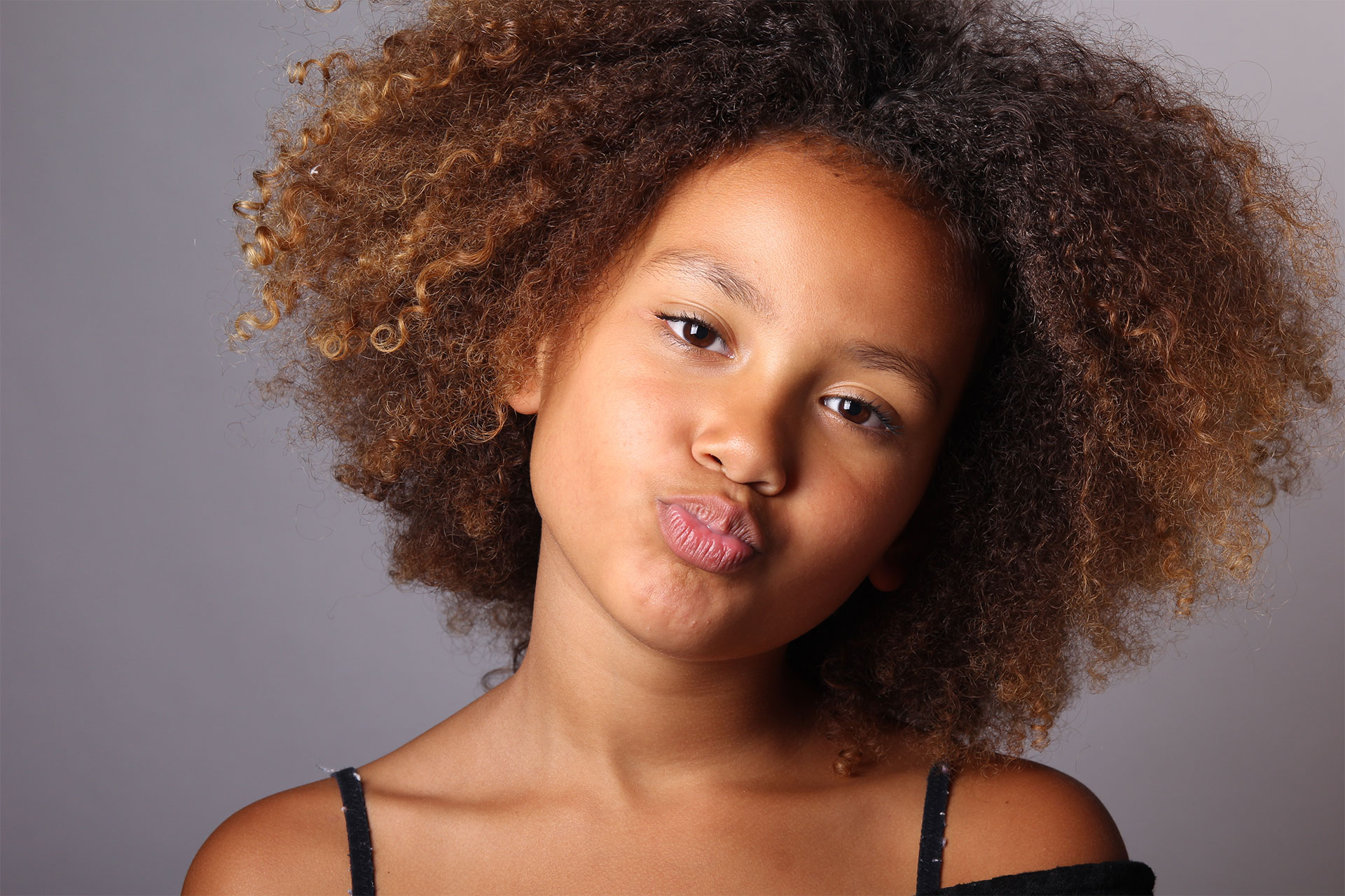 a model with beautiful healthy lips